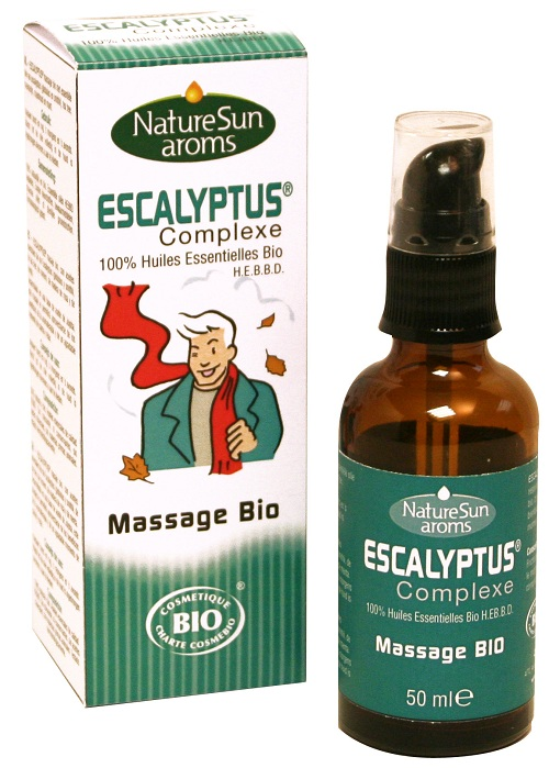 Escalyptus Massage 50ml BIO