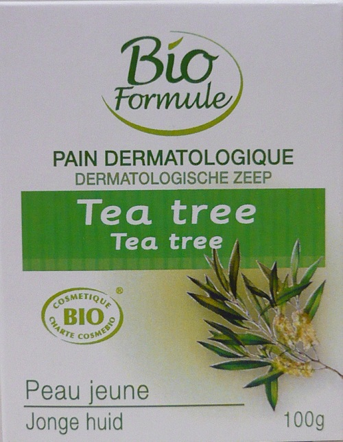 Pain Dermatologique Tea Tree 100g BIO