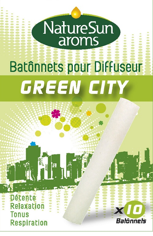Diffuseur Green City: Recharges Batonnets